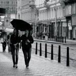 C'mon Prague, is this really summer?!  – rain idioms