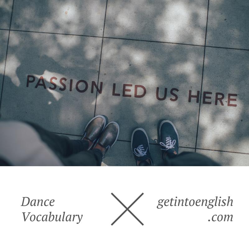 Let's Dance English Vocabulary (1)
