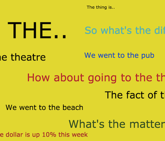 """The"" – Phrases & Patterns That Go With The Definite Article"