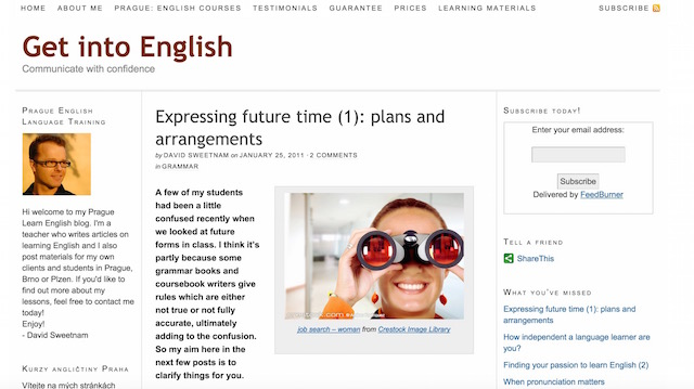 how to set up english skype lessons