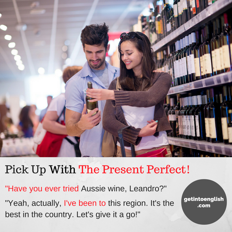 Pick Up With The Present Perfect Conversation Supermarket
